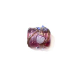 Italian Style roze glaskraal