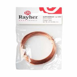 Koperdraad 1,2 mm van Rayher