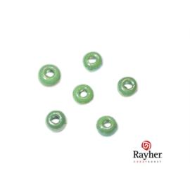 Groene rocaille Opaak Lustré 2,6 mm van Rayher