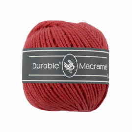 Macrame 316 Red - Durable