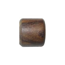 Bruine houten kraal