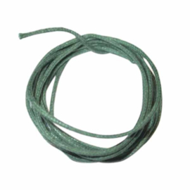 Groen gewaxt katoen 1 mm