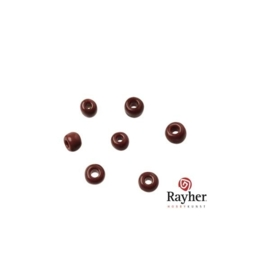Donkerbruine rocaille Opaak  van Rayher