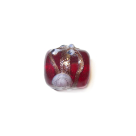 Italian Style red glass bead