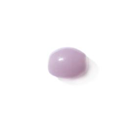 Roze langwerpige glas kraal