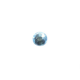 Plakkristal Aquamarine 4 mm