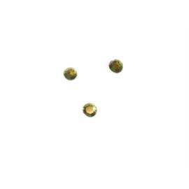 Plakkristal Citrine (geel) 3mm