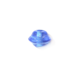 Blauwe glaskraal diabool