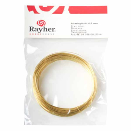 Messingdraad 0,4 mm van Rayher