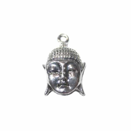 Silver colored Buddha