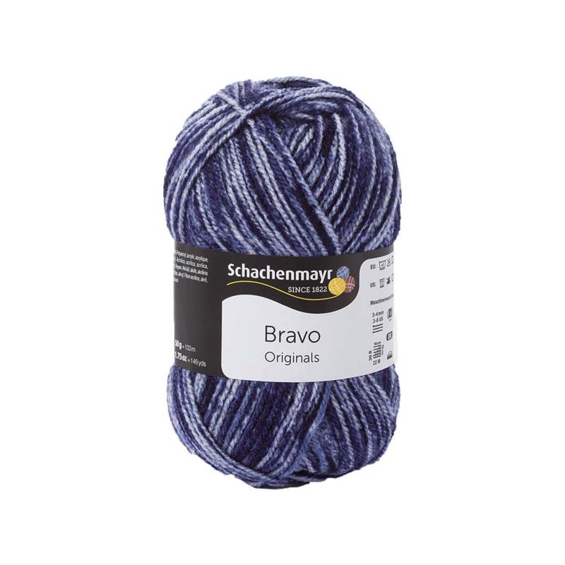 SMC Bravo 8354 Denim dark Blue - Schachenmayr