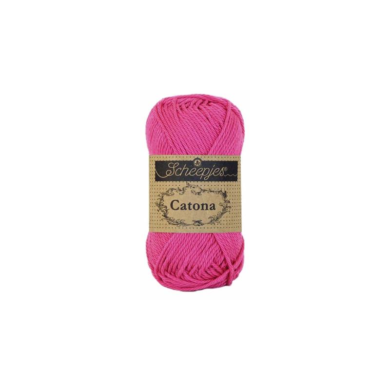 114 Shocking Pink Catona 10 gram - Scheepjes