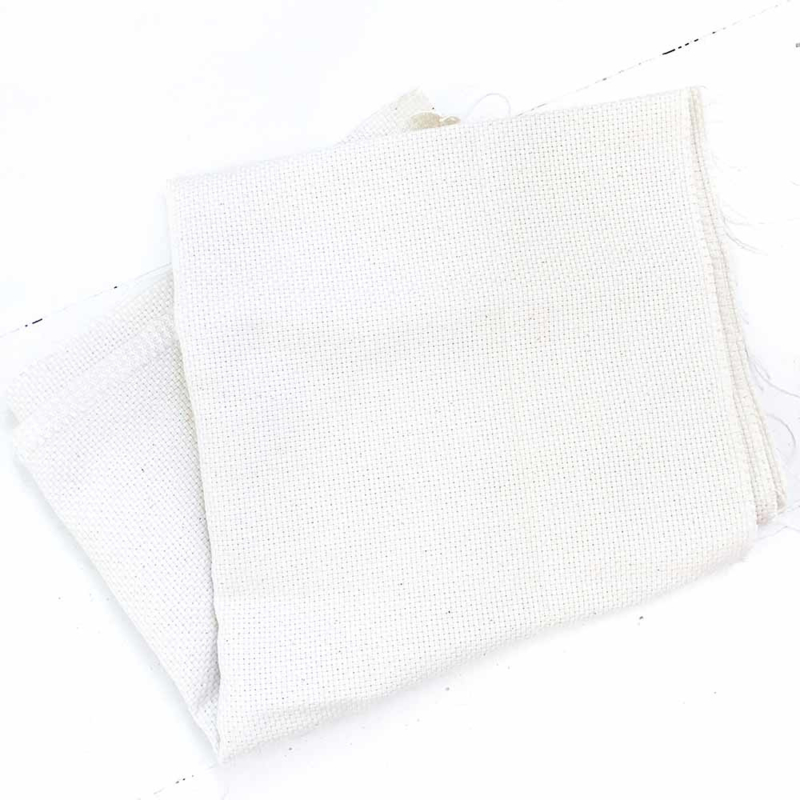 Monks Cloth stof  voor Punch Needle 50 x 140 cm