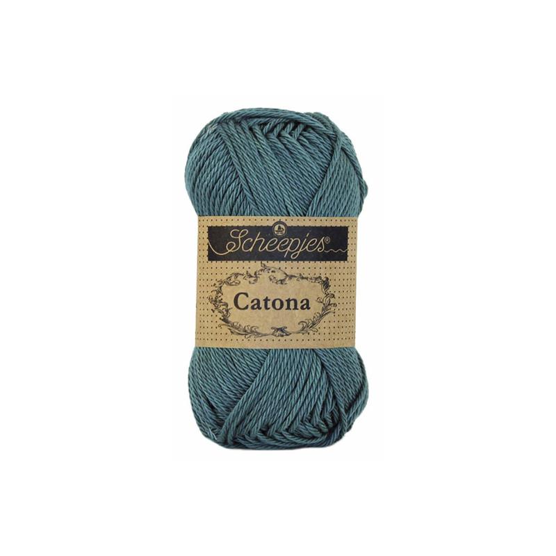 391 Deep Ocean Green Catona 25 gram - Scheepjes
