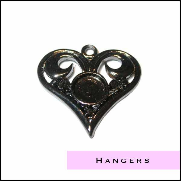 Black Nickel hangers - Cottonandcandles