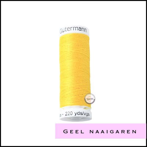 Geel - beige naaigaren