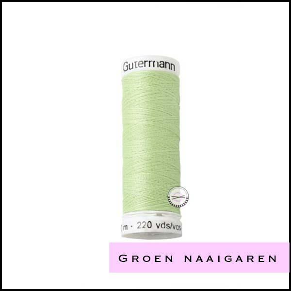 Groen naaigaren
