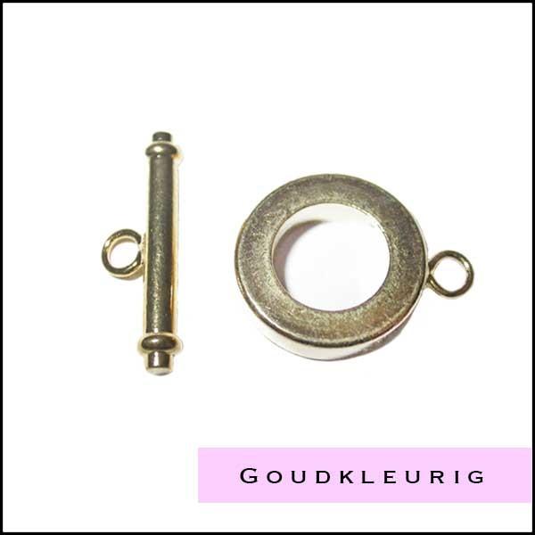 Goudkleurige onderdelen en kralen - Cottonandcandles