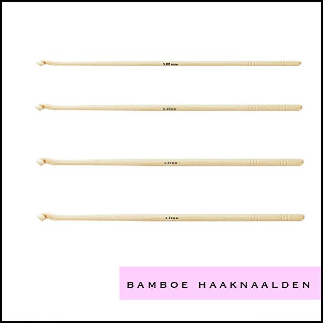 Bamboe haaknaalden