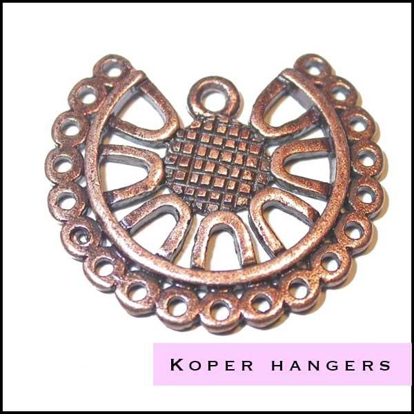 Koper hangers en ornamenten - Cottonandcandles
