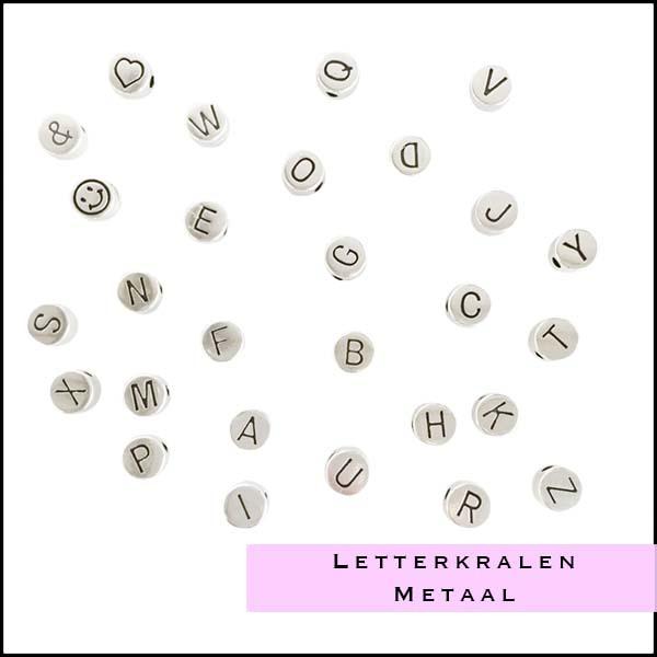 Letterkralen metaal