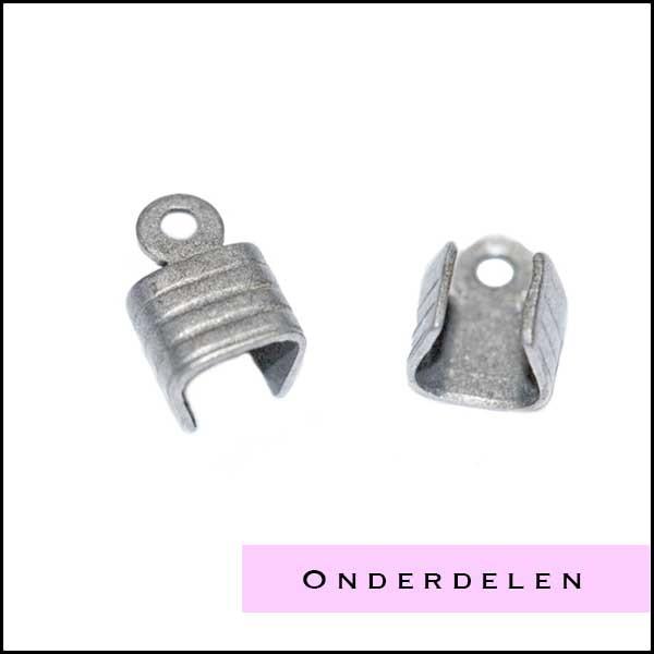 Oudzilverkleurige onderdelen - Cottonandcandles