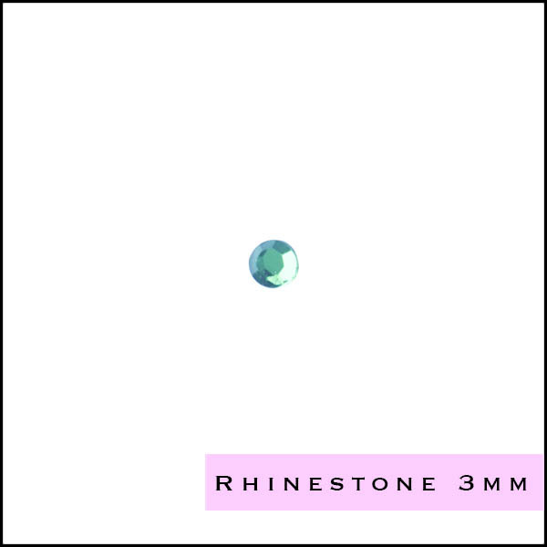 Rhinestones 3 mm SS12