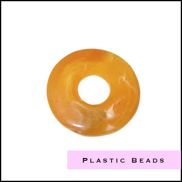 Plastic - Polyester beads