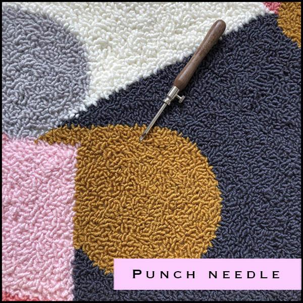 Punchneedle materialen