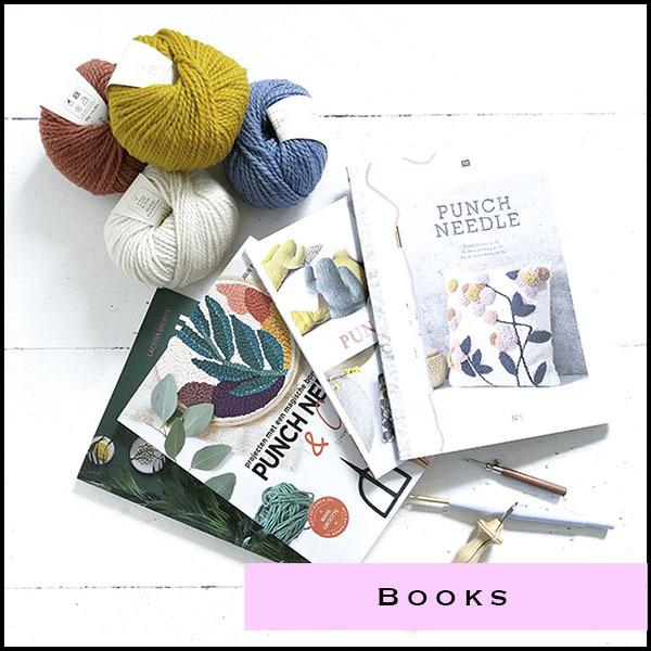 Boeken over Punch needle