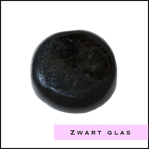 Zwarte glas kralen