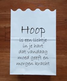 Hoop is een lichtje ...