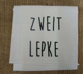"""Zakdoek """"Zweitlepke"""""""