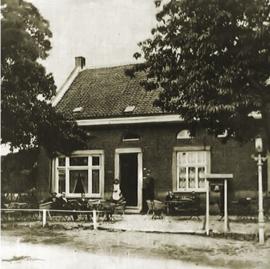 "Onderzetter ""Café Maaszicht"""
