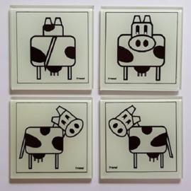 Onderzetter koe