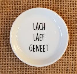"Theetipje ""Lach laef geneet"""