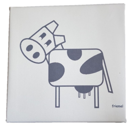 Canvasdoek koe li