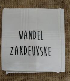 """Zakdoek """"Wandel Zakdeukske"""""""
