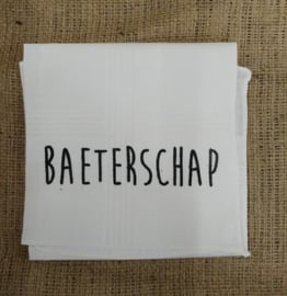 """Zakdoek """"Baeterschap"""""""