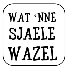 Wat 'nne sjaele wazel
