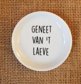 """Theetipje """"Geneet van 't laeve"""""""