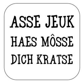 Asse jeuk haes ...