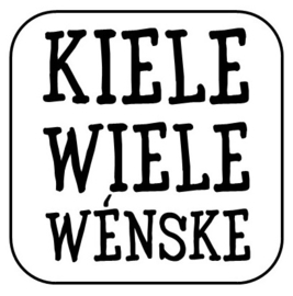 """Onderzetter Kiele, kiele..."""""""