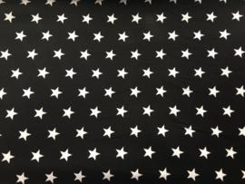 Stof - Zwart kleine ster