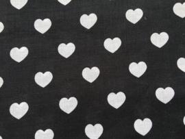 Stof -  Zwart hart