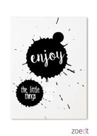 Kaart Enjoy the little things