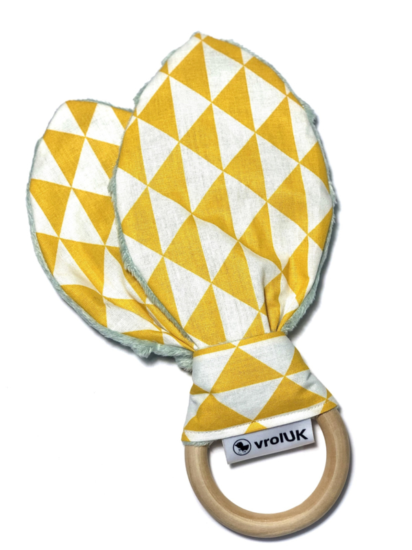 Knisperoortje - Geel driehoek
