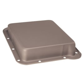 Transmission Oil Pan Stampet Steel C4 64-73 Black