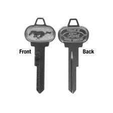 Key Trunk and Glovebox Blank 64-66 Each