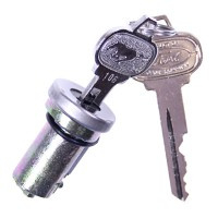 Key Trunk Lock Kit 64-66 With O-Ring and Pony Keys